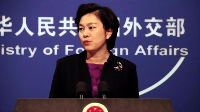 China respalda las acciones de Ecuador por buque con pesca ilegal