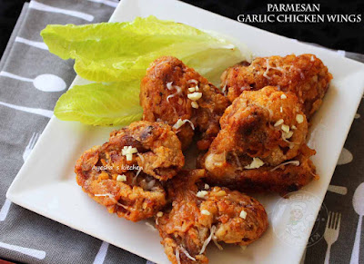 parmesan chicken wings recipes crispy chicken recipe fried chicken recipe baked chicken garlic chicken cheesy ayeshas kitchen chicken recipes