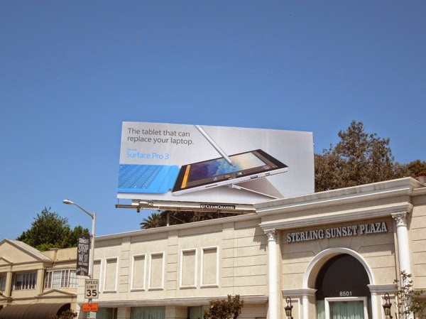 Microsoft Surface Pro 3 billboard