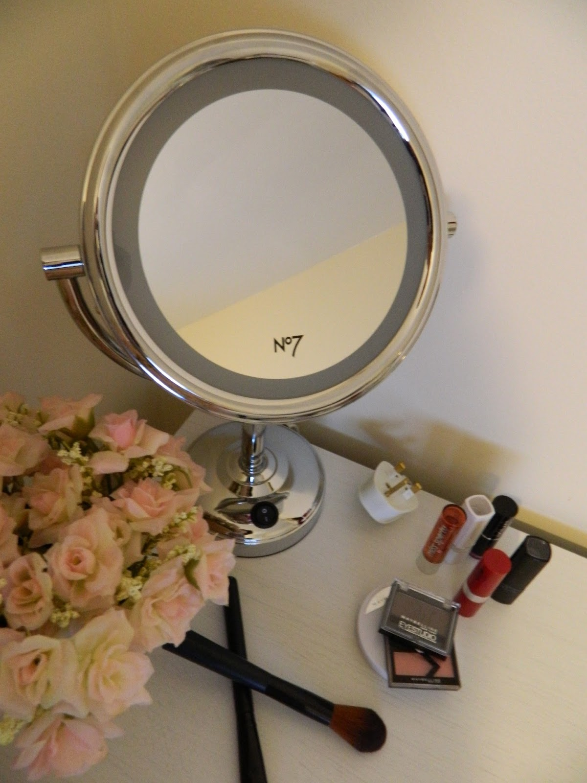 No7 Illuminated Makeup Mirror Boots Ebay