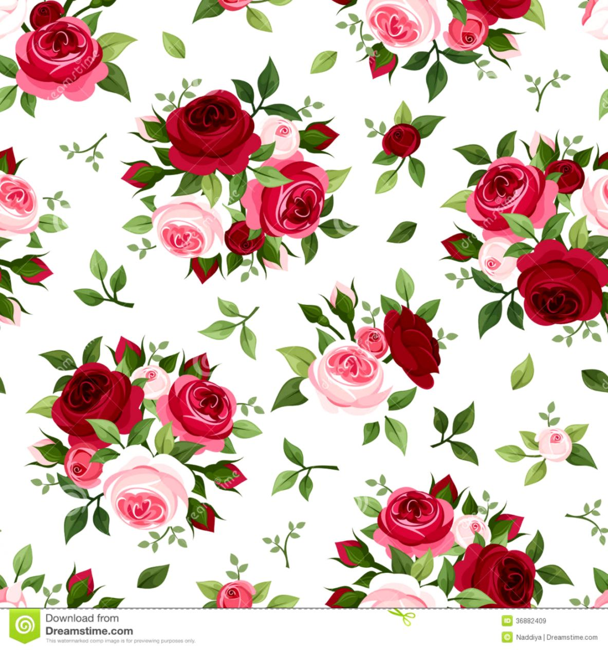 Wallpaper Pattern Pink Rose Wallpapers Records