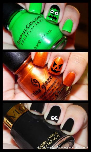 Unha de Halloween
