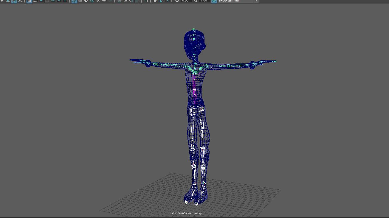 Ian Garling Animation: Maya Tutorials - Creating a Skeleton
