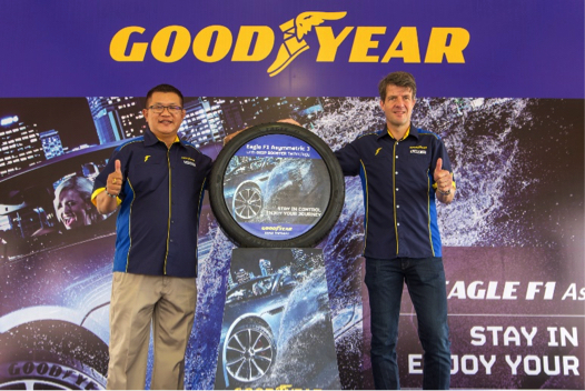 Goodyear Malaysia Launches Eagle F1 Asymmetric 3