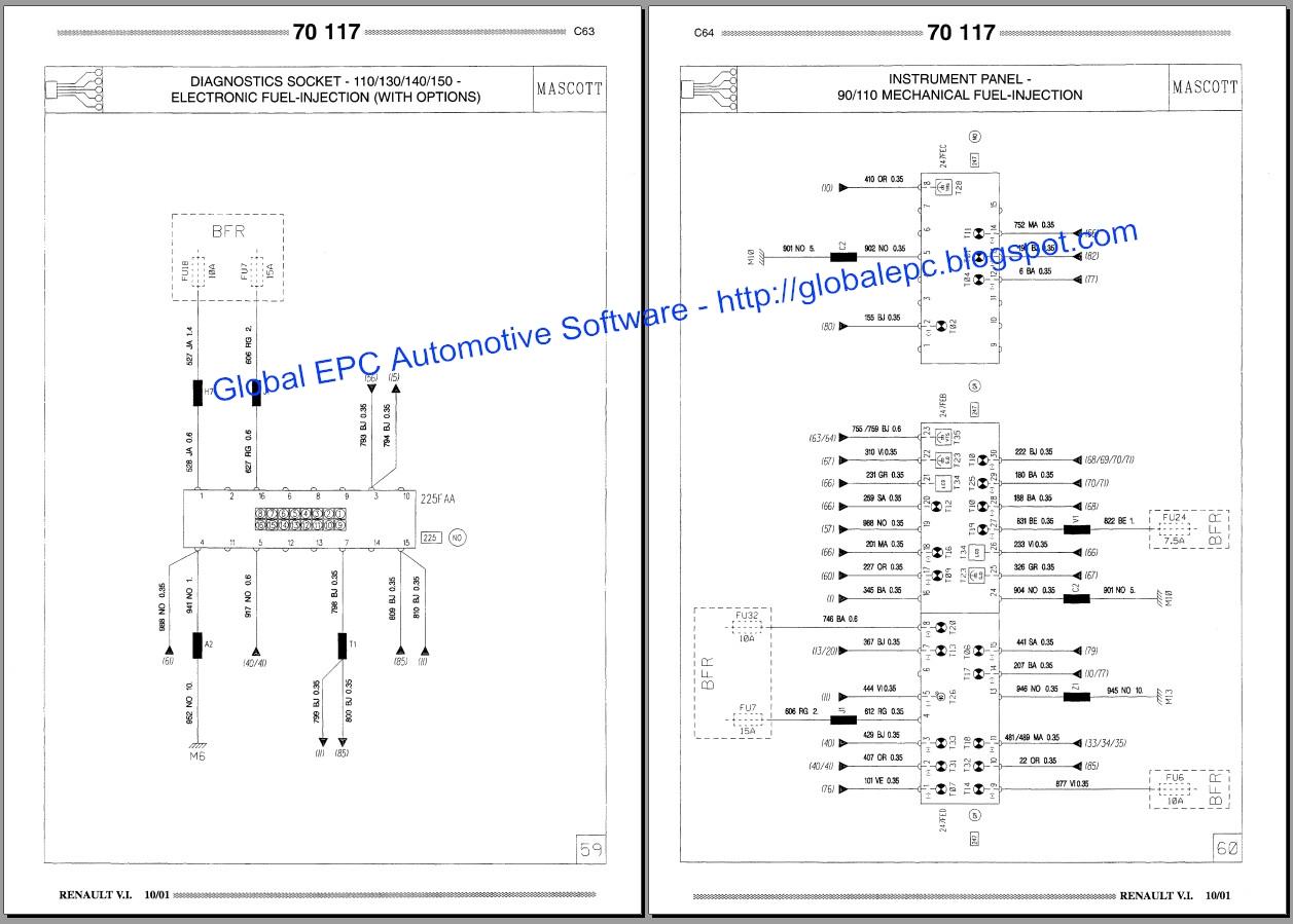 renault wiring diagrams free