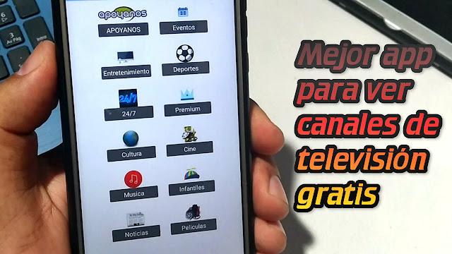 La mejor aplicación para ver CANALES de TELEVISIÓN en vivo GRATIS 2019