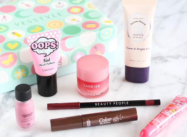 Asian Beauty, K-beauty, Asian Beauty Box,YESSTYLE review Beauty Box Review,