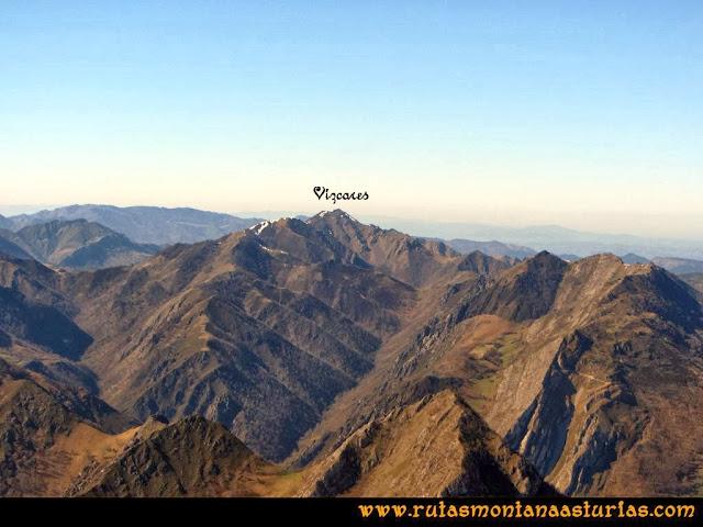 Ruta al Pico Pierzu: Vista del Vízcares
