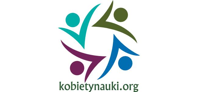 Logo Fundacji Kobiety Nauki