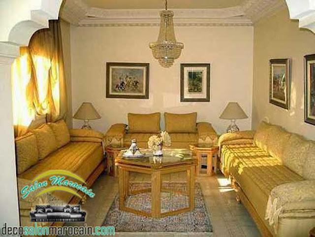 Antiquité marocaine pour une décoration du salon 2017