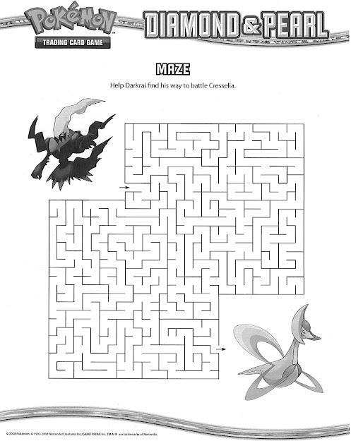 Darkrai Cresselia Maze