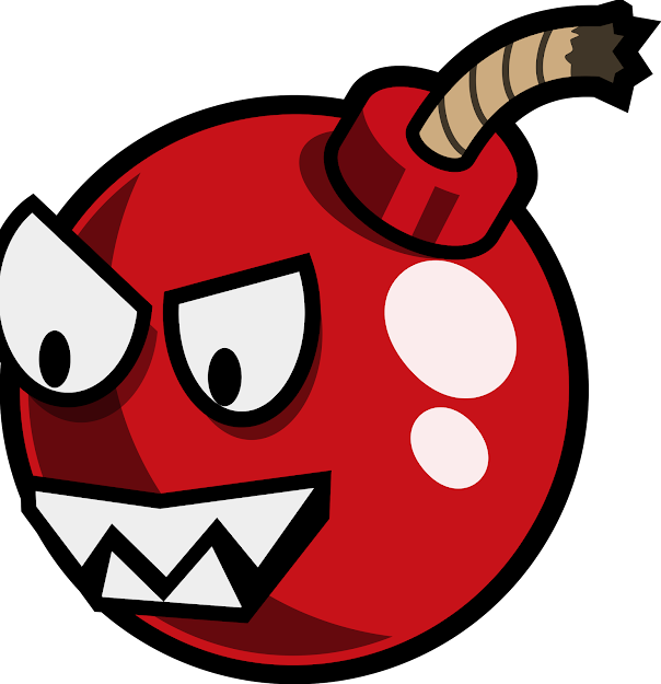 Cherry Bomb Vector File Graphic By Monster Brain Inc