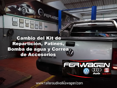 Ferwagen Cambio de Correas de Reparticion