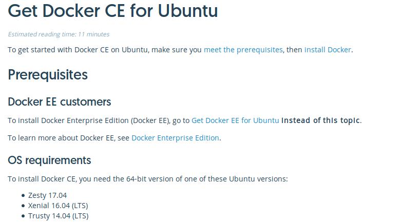 Run like Hell: Docker-CE on Ubuntu 17 10 (Artful Aardvark)