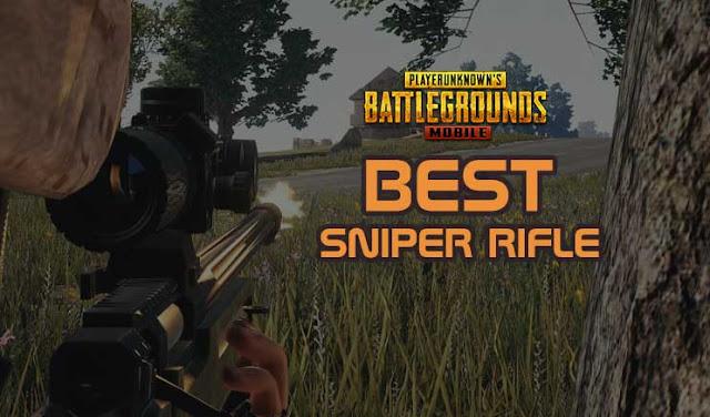 pastinya kamu sering kali bertemu dengan seorang sniper Tutorial games: Senjata Sniper Rifle Terbaik Di PUBG Mobile