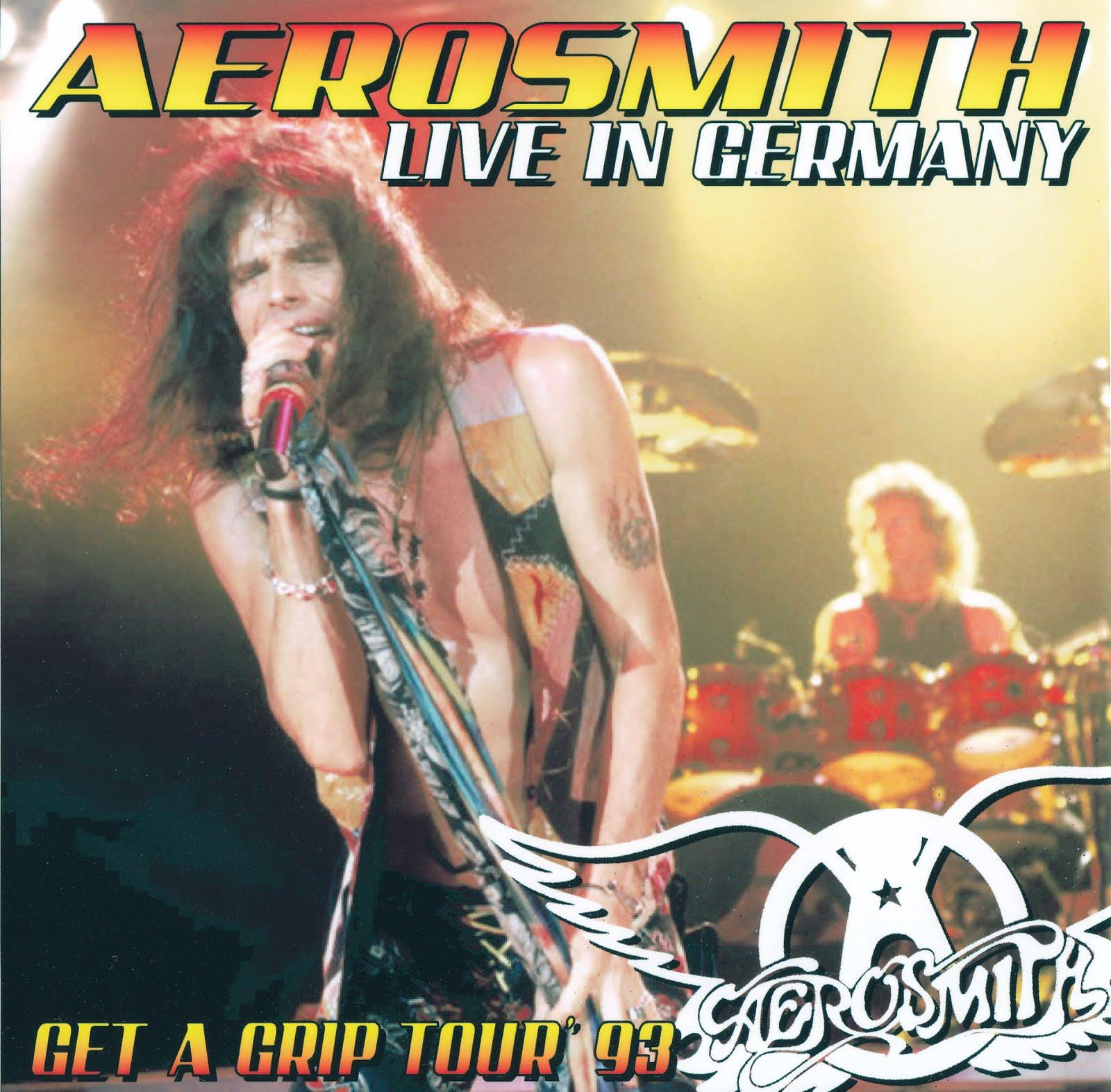 Aerosmith Bootlegs Cover Arts Live In Germany Oldenburg