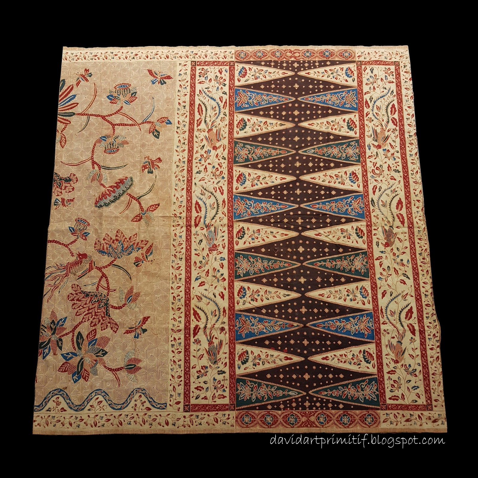 4 Penemu Batik Tulis: Art & Primitif: Sarung Batik Tulis Lasem Tua Bangbironjon