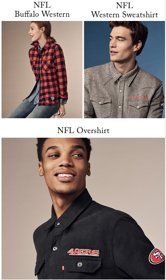 Levi's NFL Collection 2016