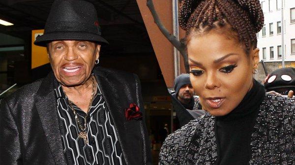 Janet Jackson pensa que o pai Joe Jackson está sendo usado no Brasil
