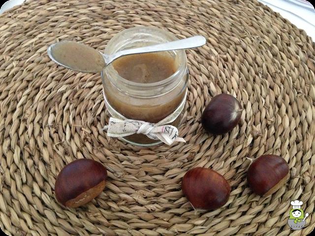 Mermelada de casta�as y manzana