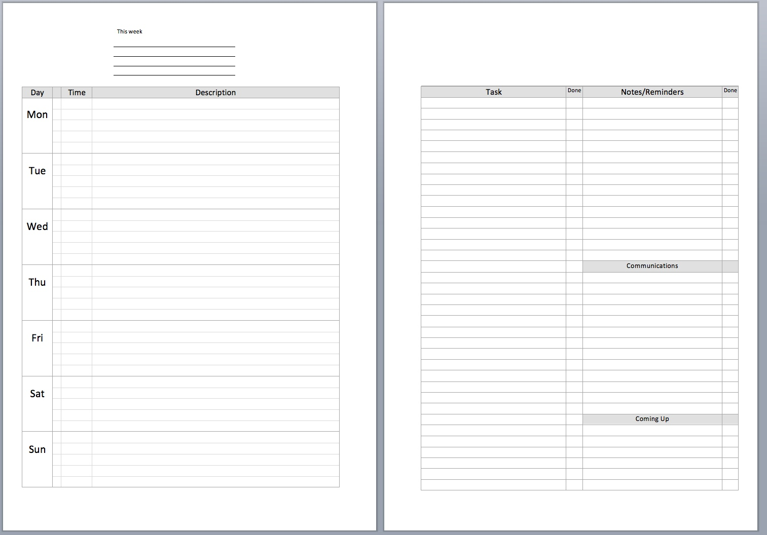 meeting agenda word template bookletemplate org