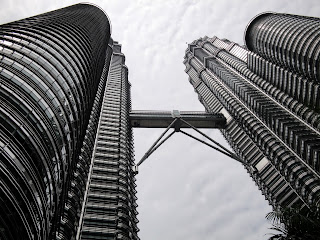 Up to the Petronas towers