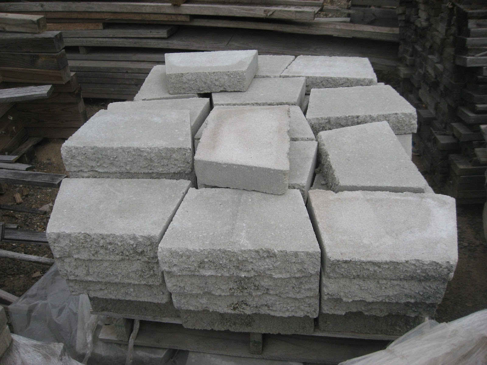 Blue Ridge Surplus Blocks Pavers And Stepping Stones