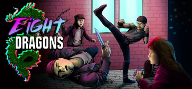 Indie Retro News: Eight Dragons - Fighting homage to games