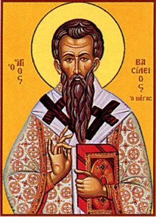 Ikona Świętego Bazylego / Agios Vasilios