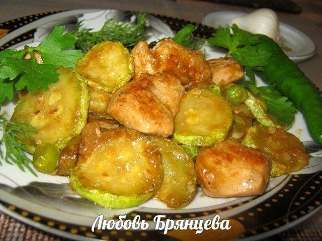 как приготовить рагу с курицей и овощами