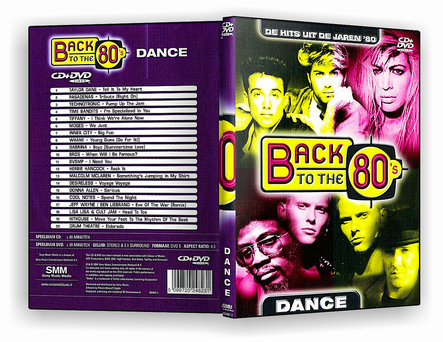 CAPA DVD – Back To The 80s Dance DVD5 – DVD-R