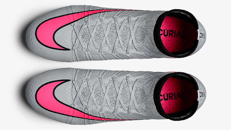 new concept 1d350 5cfee nike mercurial superfly grey and pink