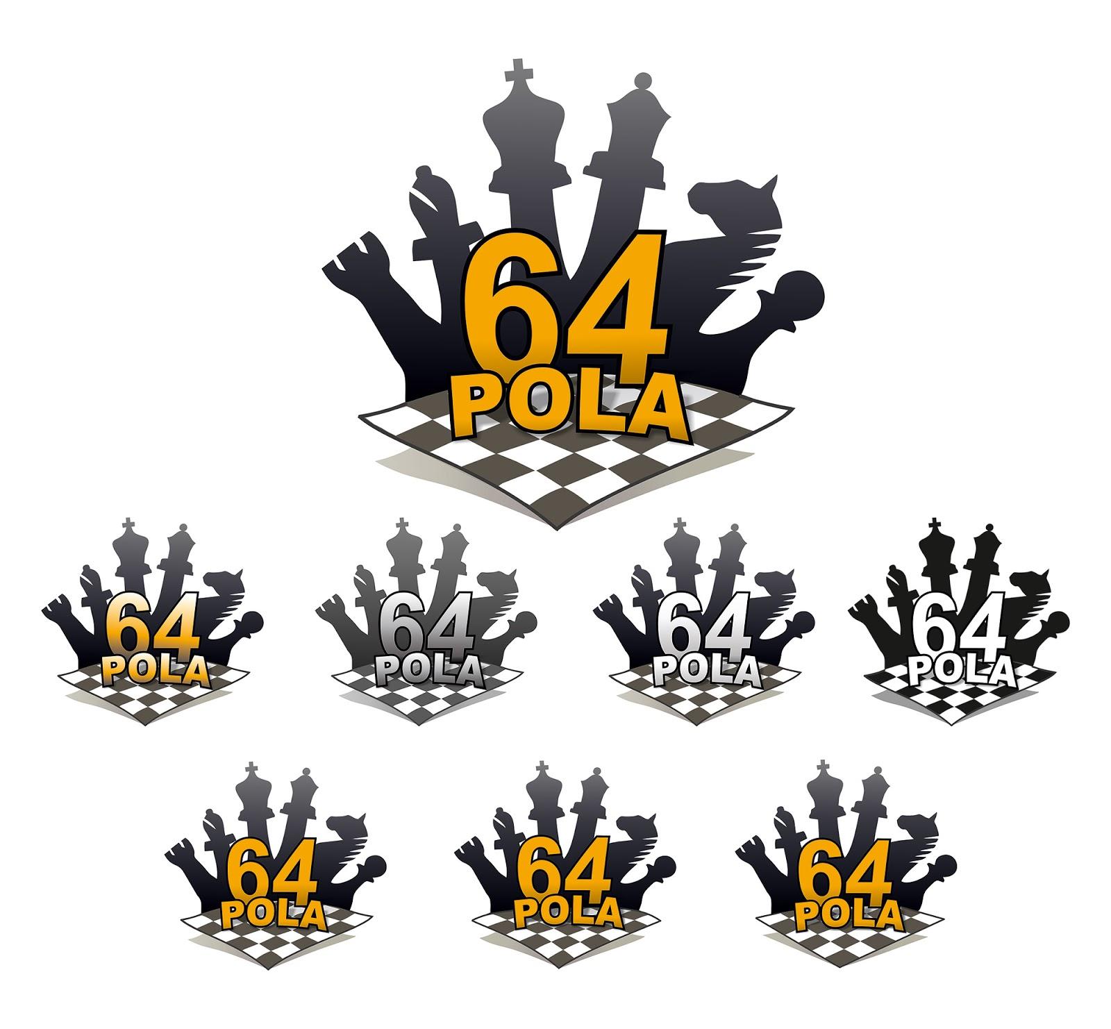 64 pola logo szachy