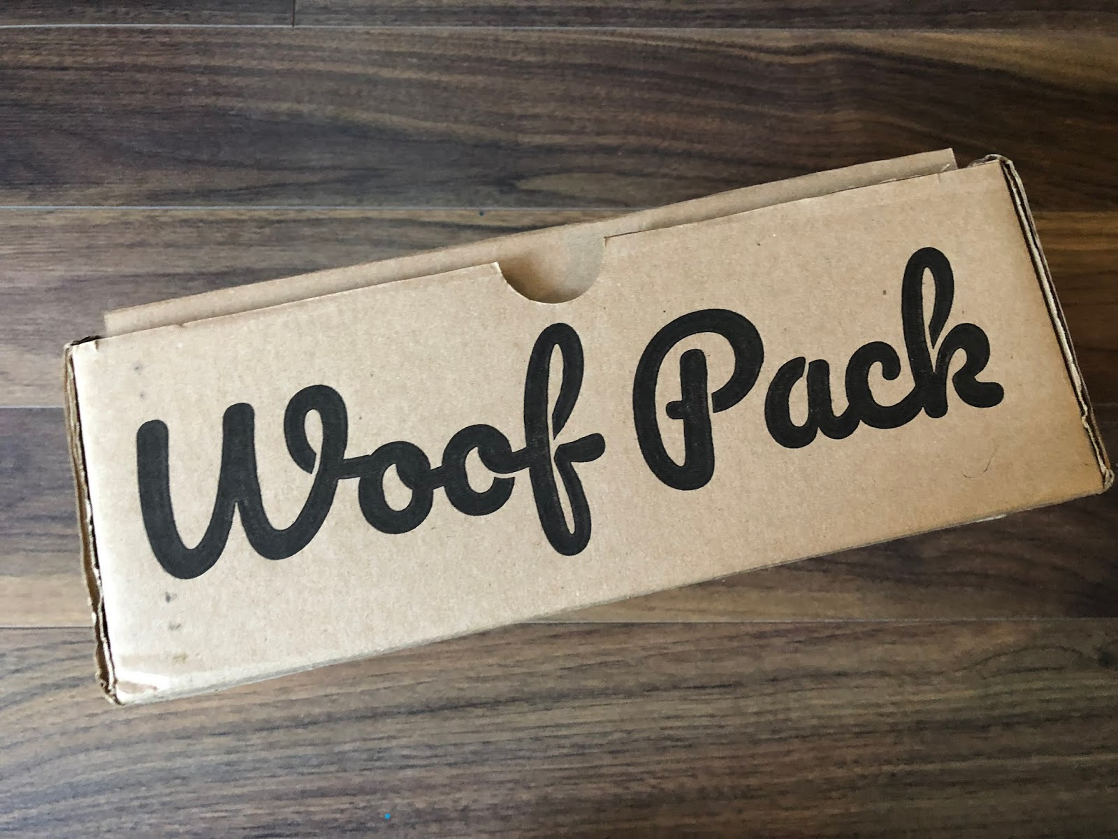 Woof Pack Review October 2018 Canadian Pet Subscription Box