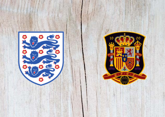 England vs Spain Full Match & Highlights 08 September 2018