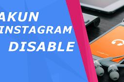 Cara Mudah Mengembalikan Akun Instagram yang di Nonaktifkan Instagram Secara Permanen