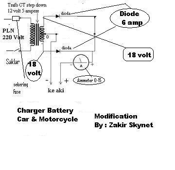 Elektronika Komunikasi: Cara Buat Charger Aki Motor dan Mobil