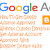How to Get AdSense Account Approved With Blogspot Domain in Hindi 2019