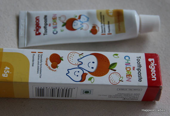 Pigeon Children Toothpaste Orange