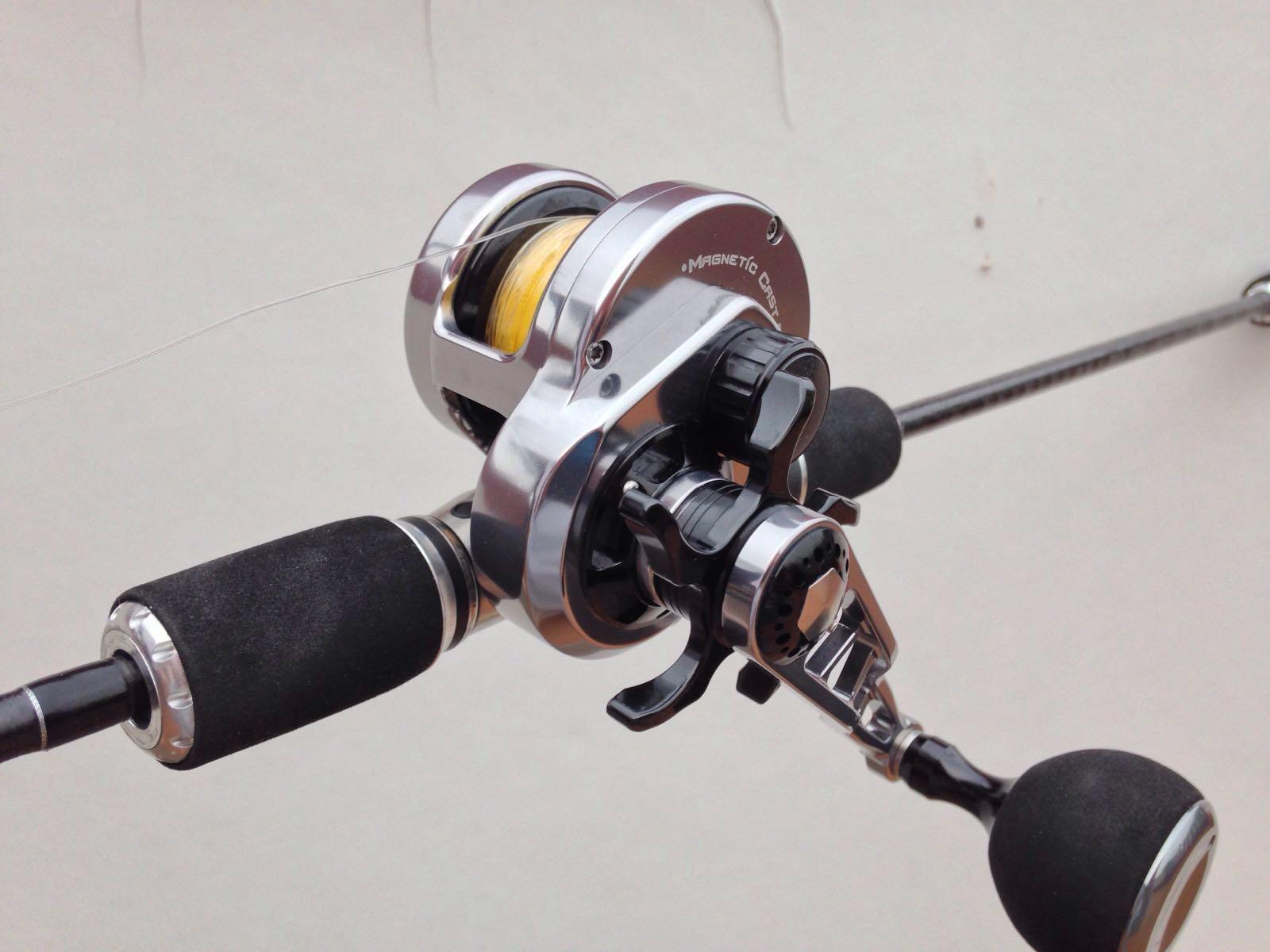 A diferencia de la pesca con vivo del capitulo anterior el slow jigging  requiere un material distinto.Consta de un carrete ligero 53e1559e84f