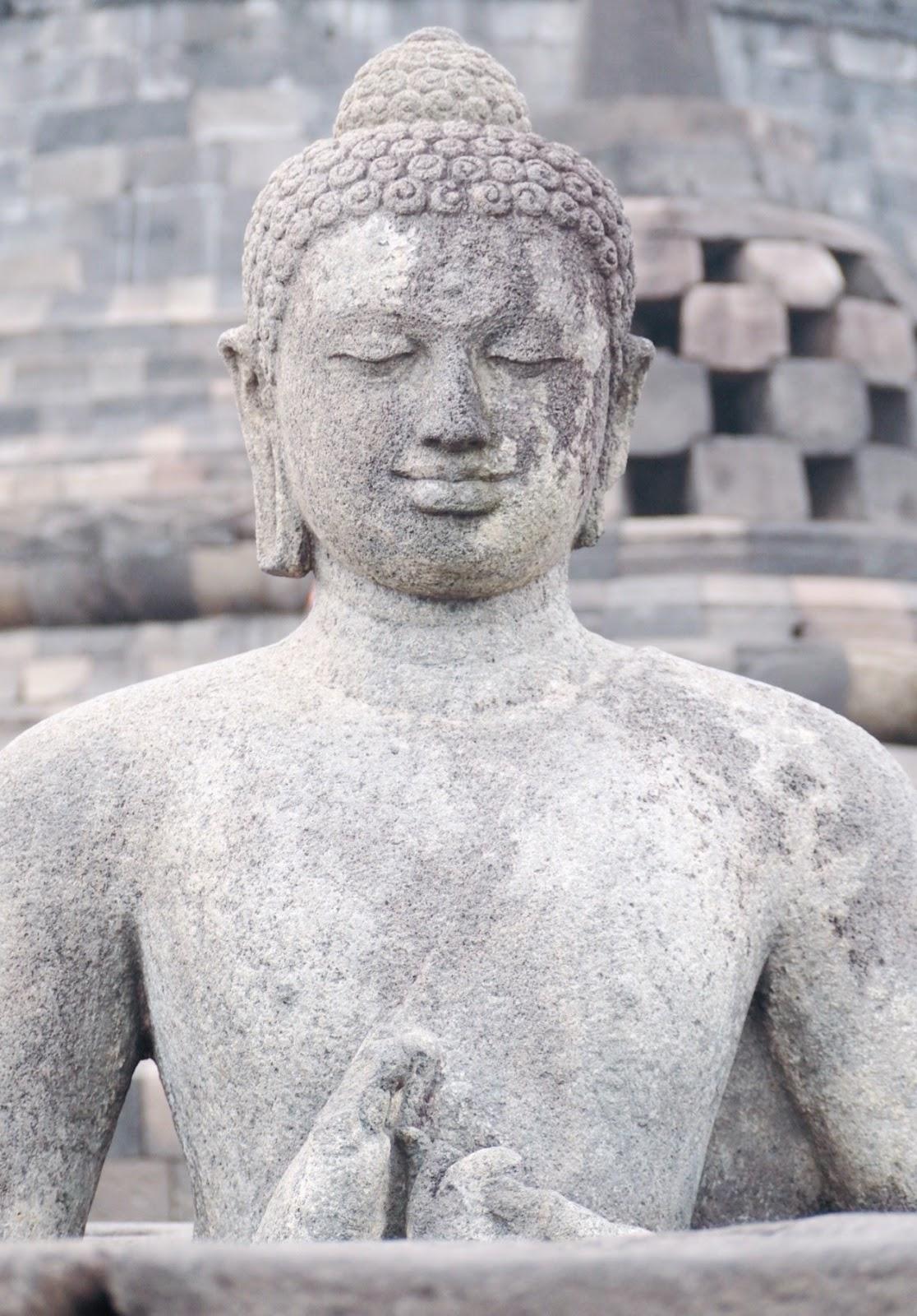 Buddha, Borobudur Temple
