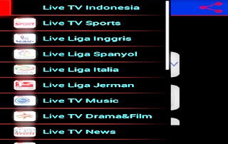 Download Aplikasi Streaming TV di Android Lengkap Semua Siaran