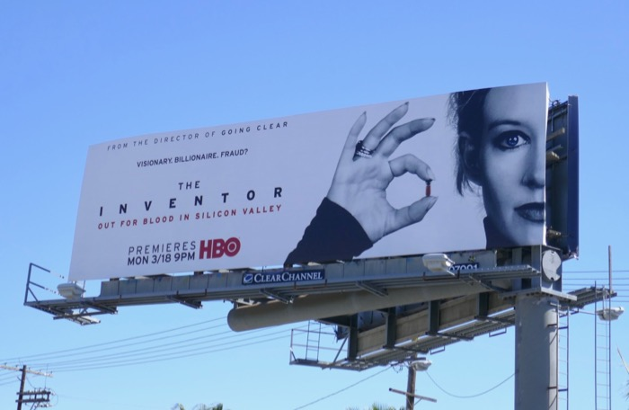 Inventor HBO film billboard