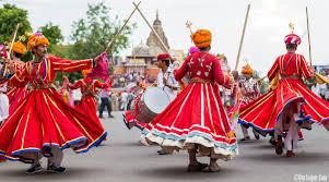 Teej Procession Jaipur