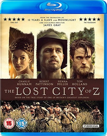 The Lost City of Z (Z, La Ciudad Perdida) (2017) 720p y 1080p BDRip mkv Dual Audio DTS 5.1 ch