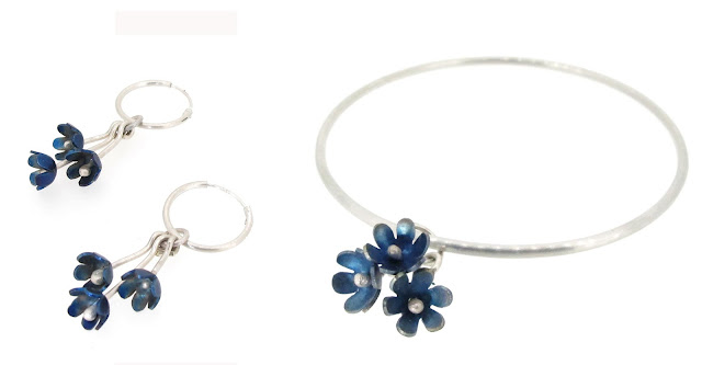springtime-forget-me-not-charm-earrings