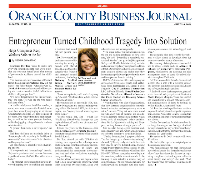http://www.ehsinternational.org/files/Orange_County_Business__Journel_-_ehsInc_Featured_Article_Marjorie_Del_Toro.pdf