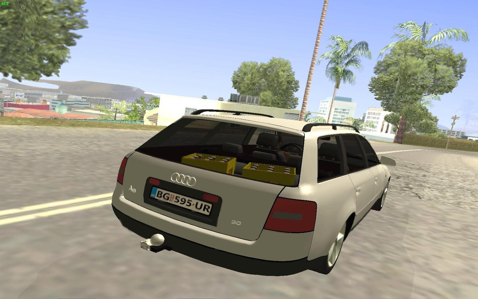 Gta Serbia Audi A6 C5 Avant