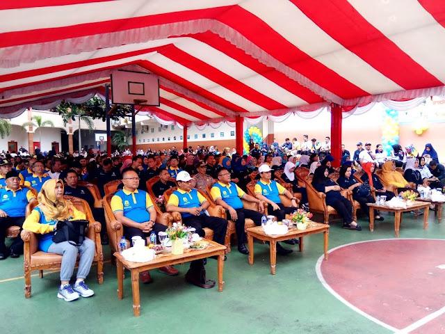 Komisi I DPRD Tangjungpinang Hadiri Kampanye Imunisasi MR