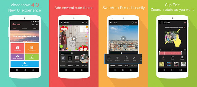 Download VideoShow Pro - Video Editor Mod pro & Unlocked cho Android
